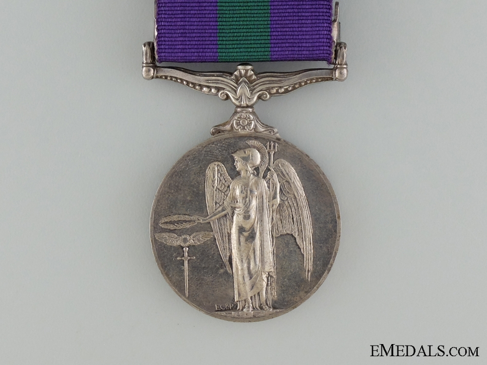 An 1962-2007 General Service Medal for Cyprus