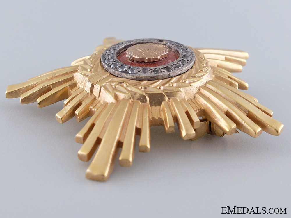 Order of the Romanian Star; Second Class Type II