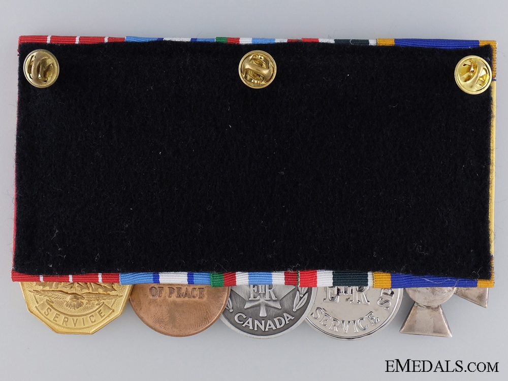 A Canadian Order of Military Merit Group to Adjutant Joseph Gaudreault,; Royal 22nd Regiment (Van Doos)