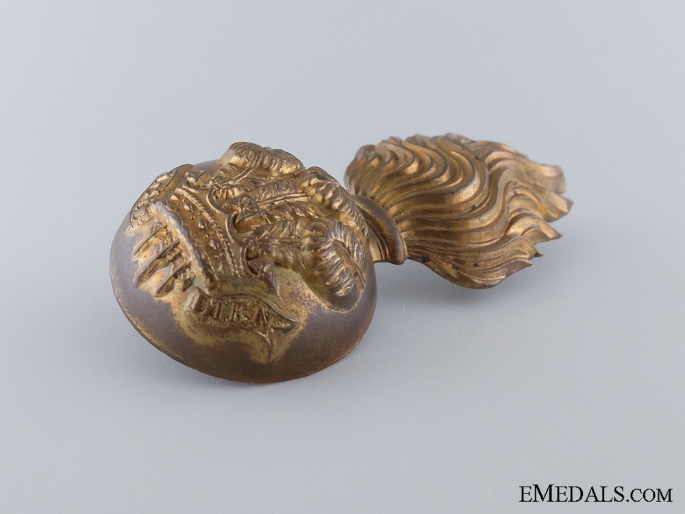 A Welsh Fusiliers Grenade Badge