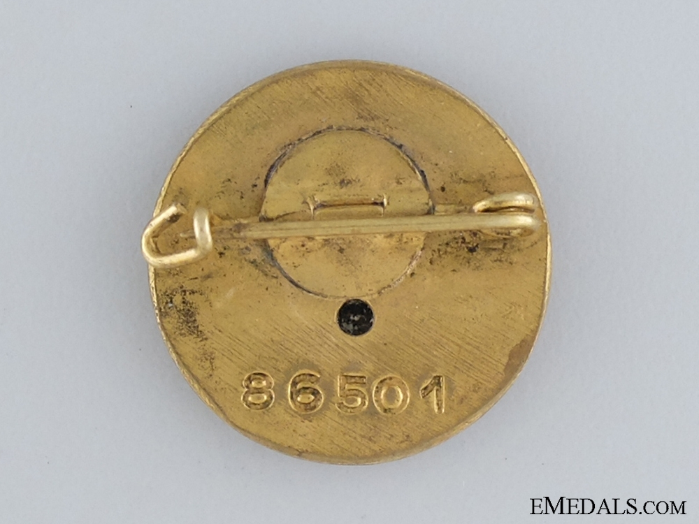 The Small Golden Party badge of Maria Umenberger
