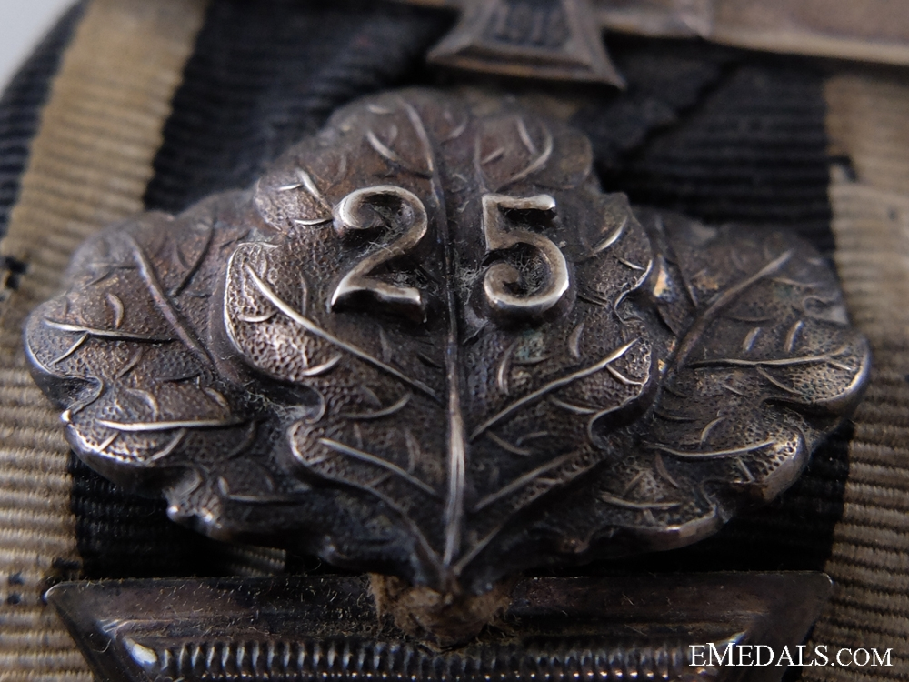 An 1870 Iron Cross 2nd Class with Jubilee Spange and 1914 Bar