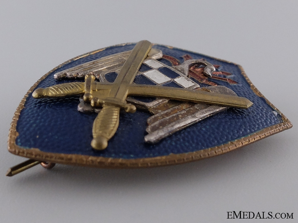 1930 Spanish Army Badge
