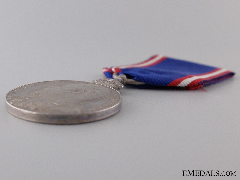 A Silver Royal Victorian Order Medal; Unnamed
