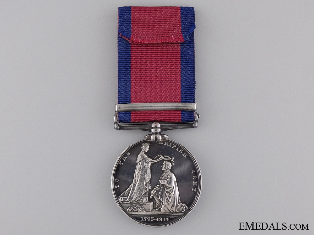A Military General Service to the Royal Artillery for Corunna