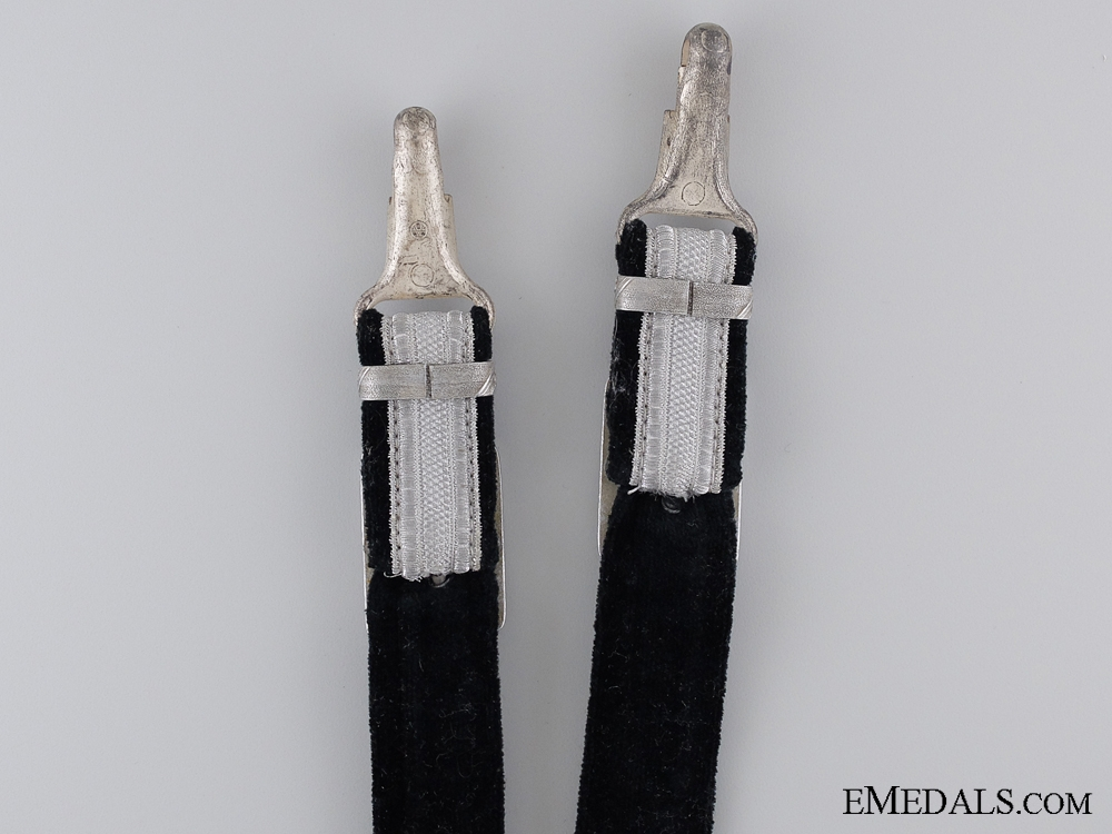 A Set of Government Official Dagger Hangers