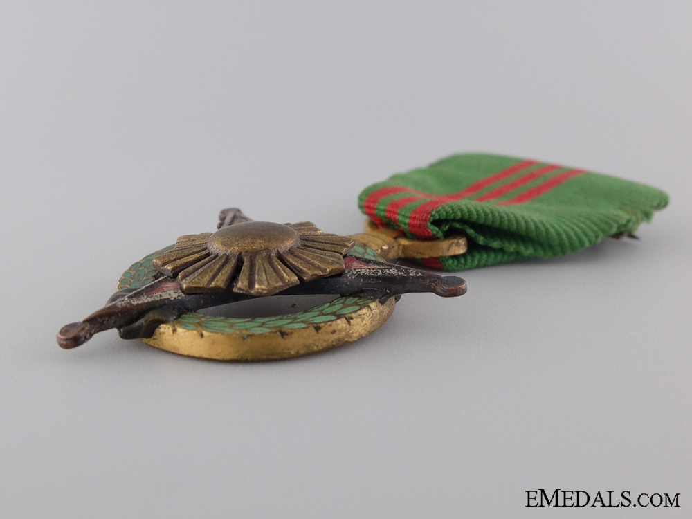 A Filipino Military Merit Medal for Service Against the Enemy