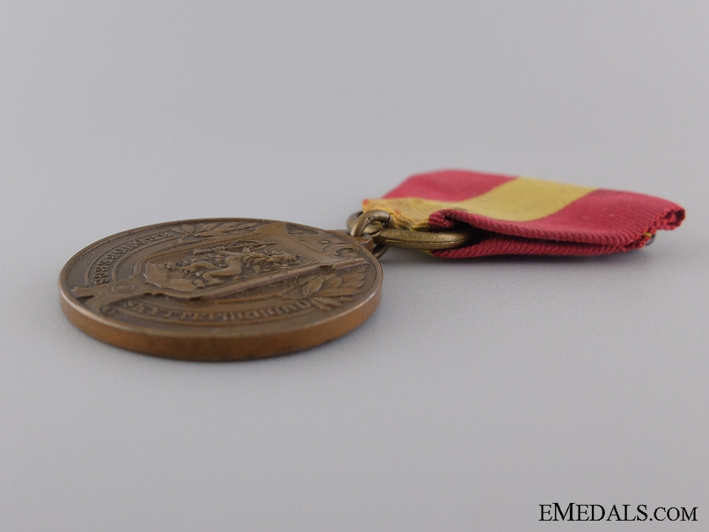 A Swedish County Shooting Association Merit Medal