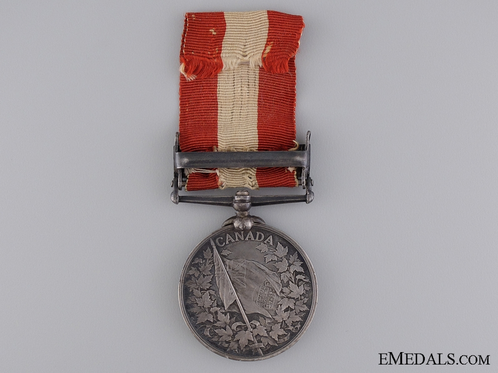 1866-70 Canada General Service Medal to the 41st Battalion
