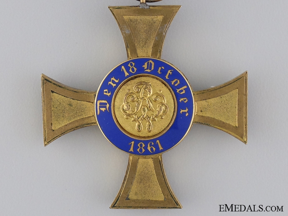 A Prussian Order of the Crown 1867-1918; Fourth Class