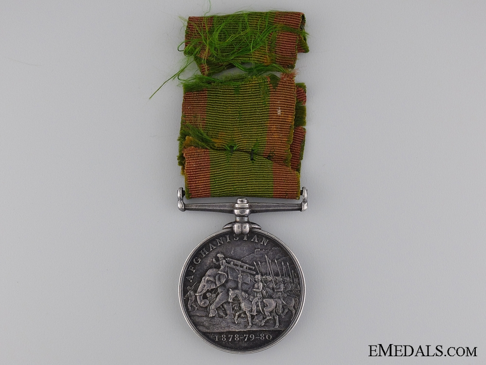 A Canadian Afghanistan & First War Medal Pairing