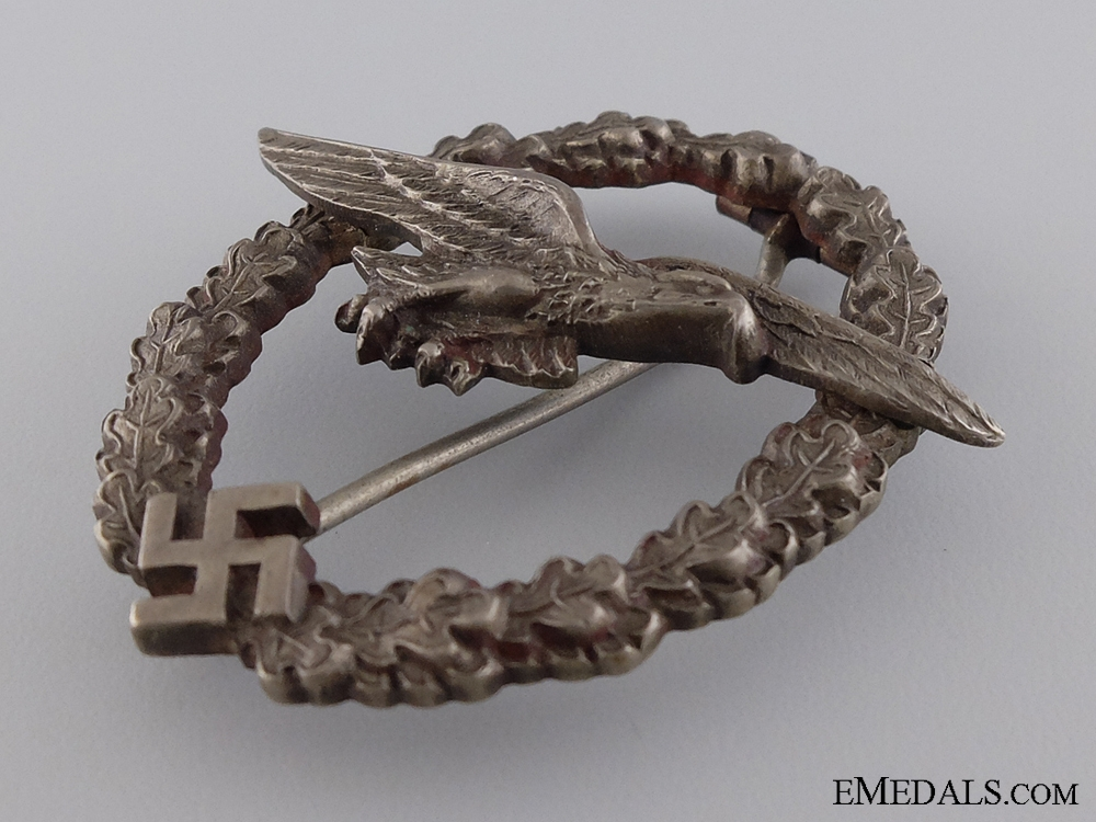 The Glider Pilot Badge; Unmarked Juncker in Tombac