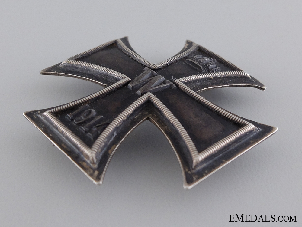 An Iron Cross First Class; Marked 800 Silver