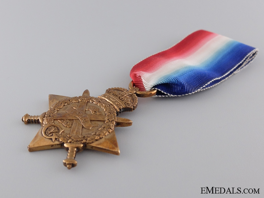 A 1914 Mons Star to the 2nd King's Royal Rifle Corps