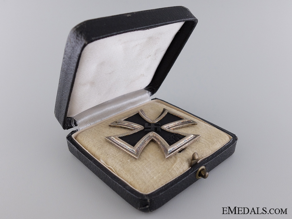 A Cased Iron Cross First Class by Klein & Quenzer