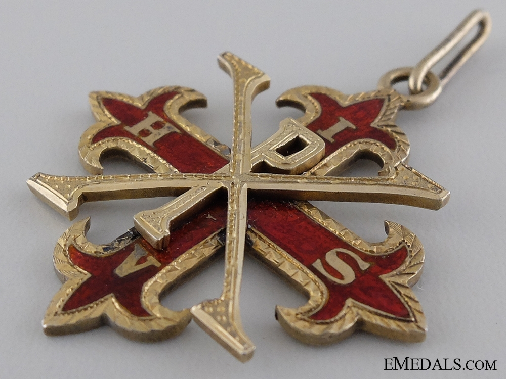 A 1903 British Red Cross of Constantine to William McNutt