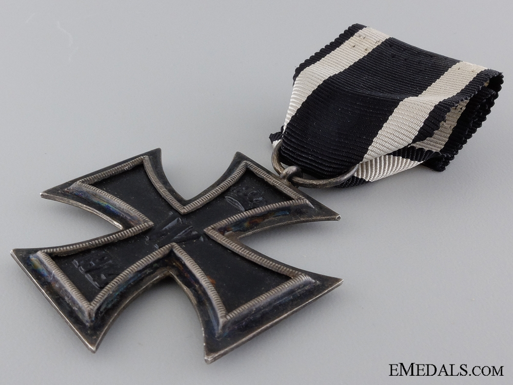 An Iron Cross Second Class 1914 by H.R. Wilm