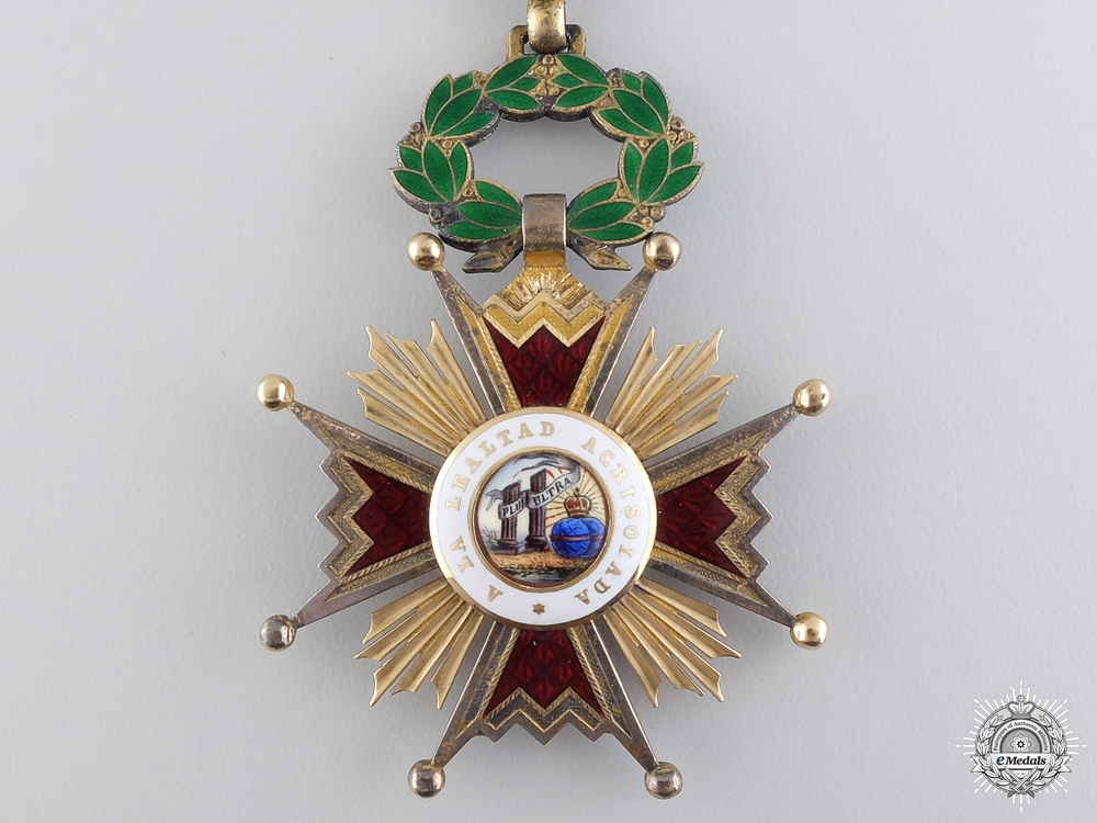 A Spanish Order of Isabella the Catholic; Grand Cross