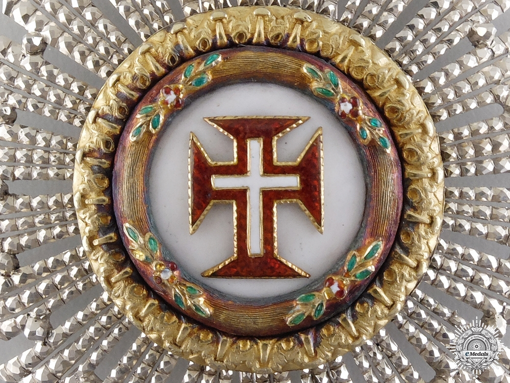 A Portuguese Military Order of Christ; Grand Cross Star