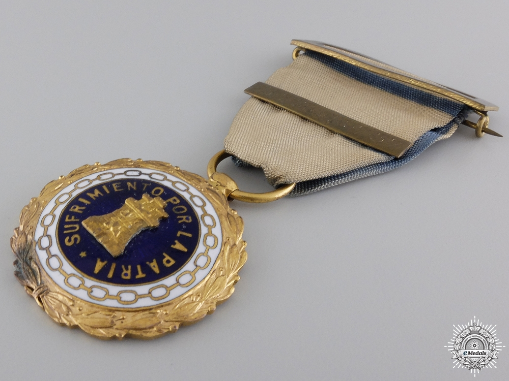 A 1937 Spanish Medal for Suffering for the Country