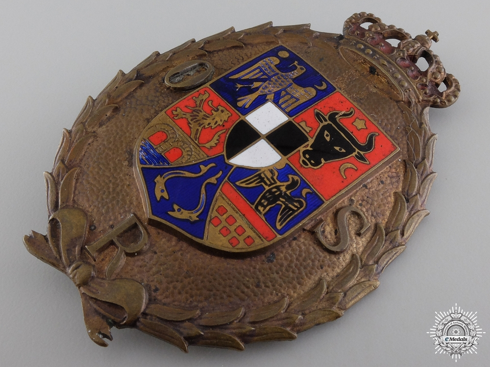 A Romanian Sports Badge with Miniature