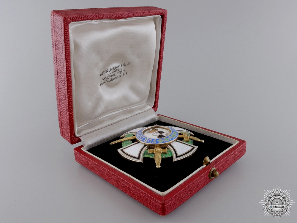 A House Order of Hohenzollern; First Class with Gold Swords
