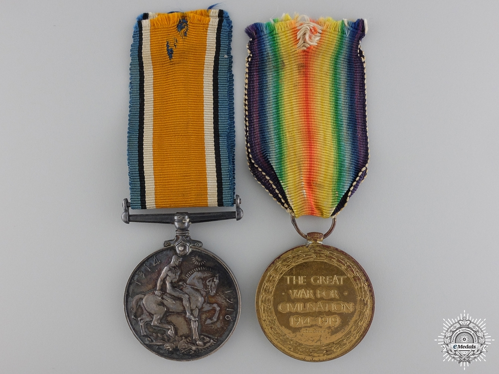 A First War Pair to the Royal Air Force
