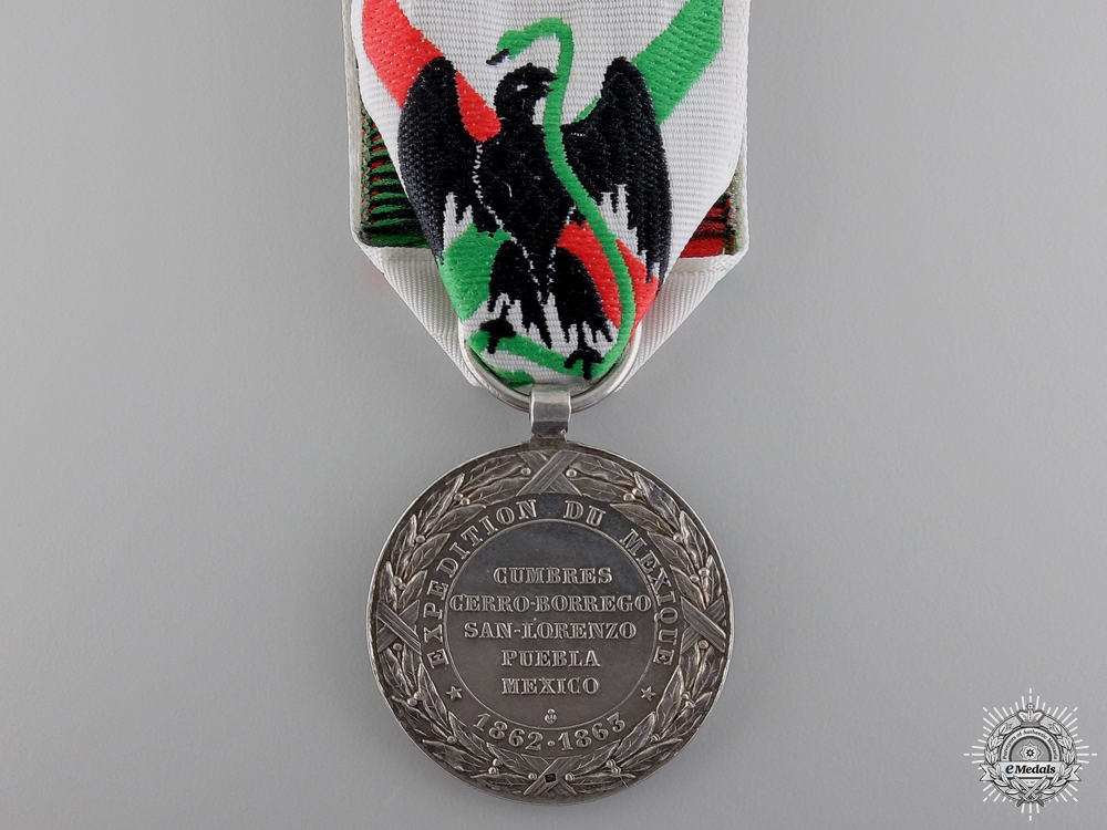 An 1862-63 Mexico Expedition Medal