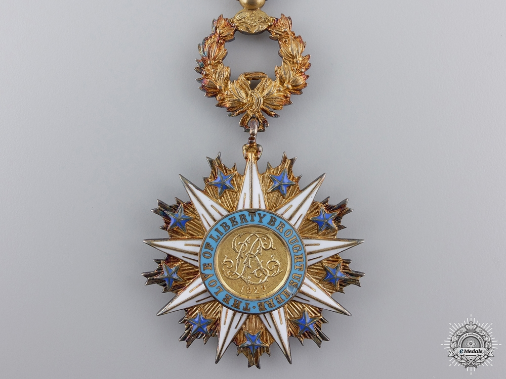A Liberian Order of the Star of Africa