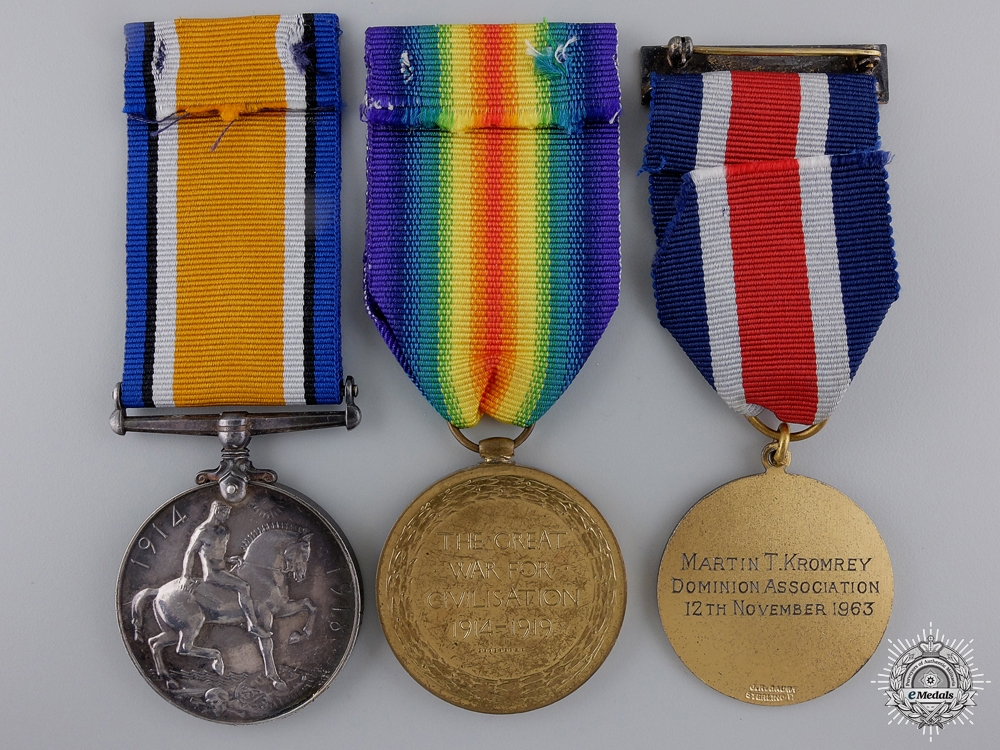 A First War Pair to the 15th Infantry Battalion