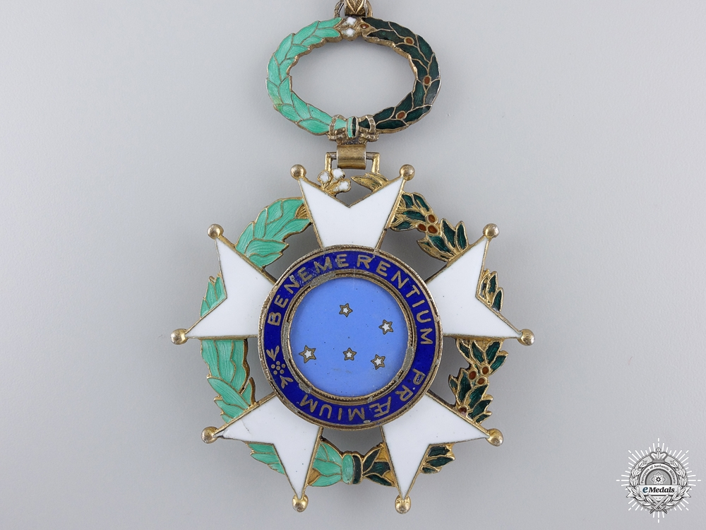 A Brazilian Order of the Southern Cross; Commander's