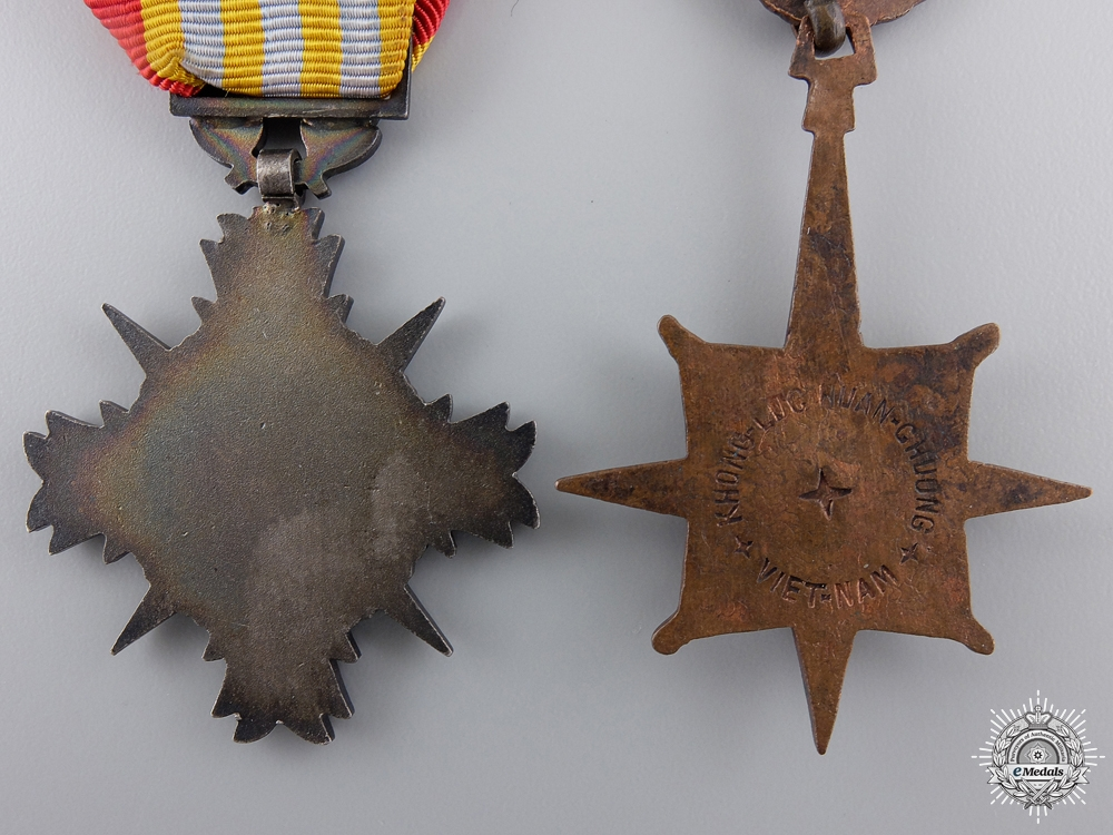 Two Vietnamese Orders and Awards