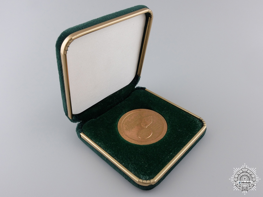 An American POW MIA in Southeast Asia Medal in Case