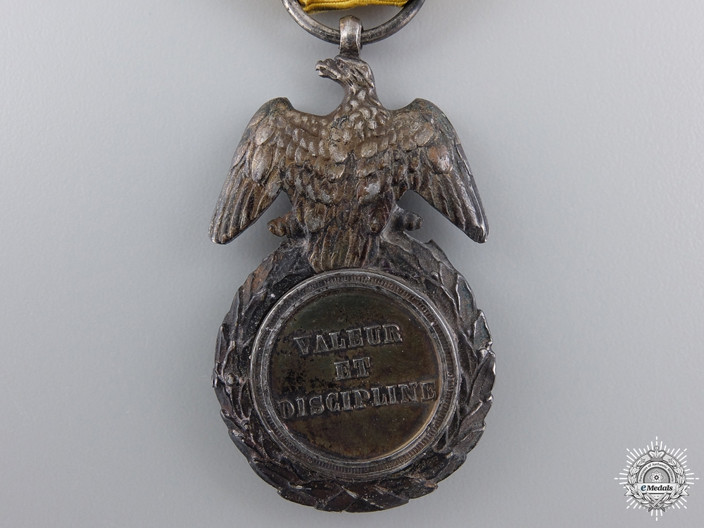 A Period French Medaille Militaire; Second Empire
