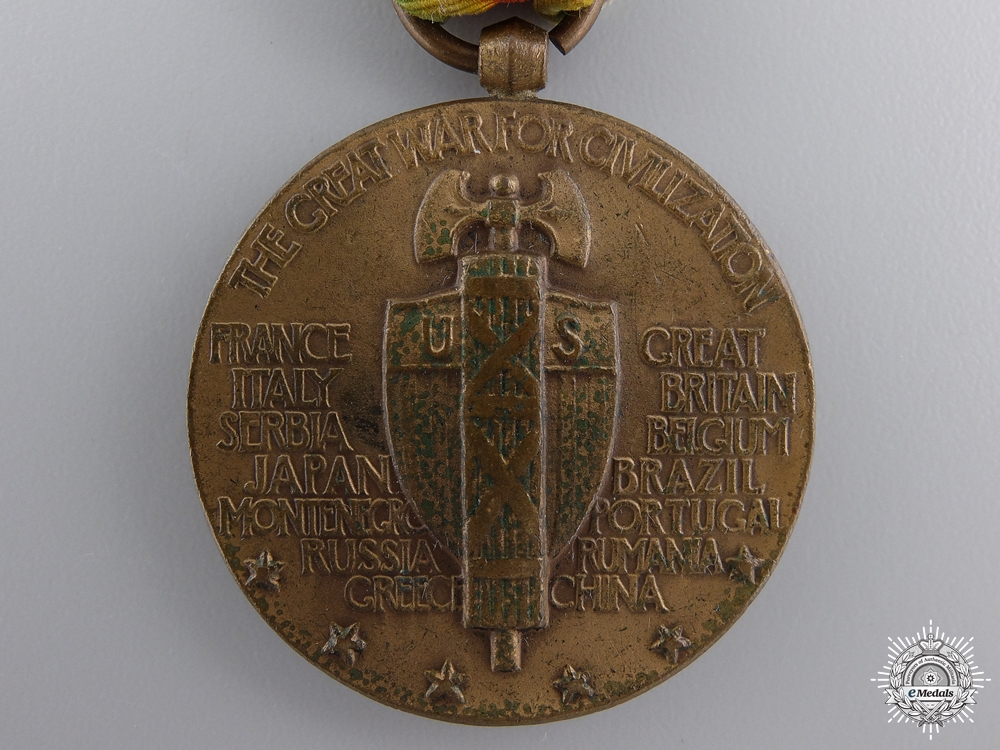 A First War American Victory Medal; West Indies