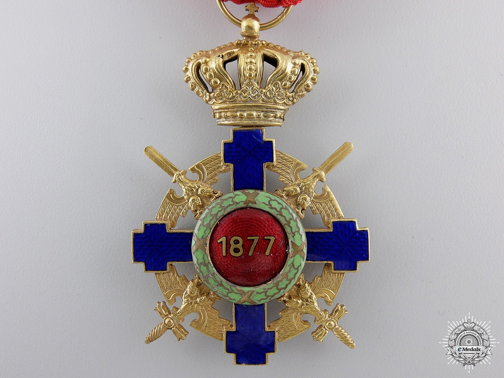 A Romanian Order of the Star with Swords 1932-1947