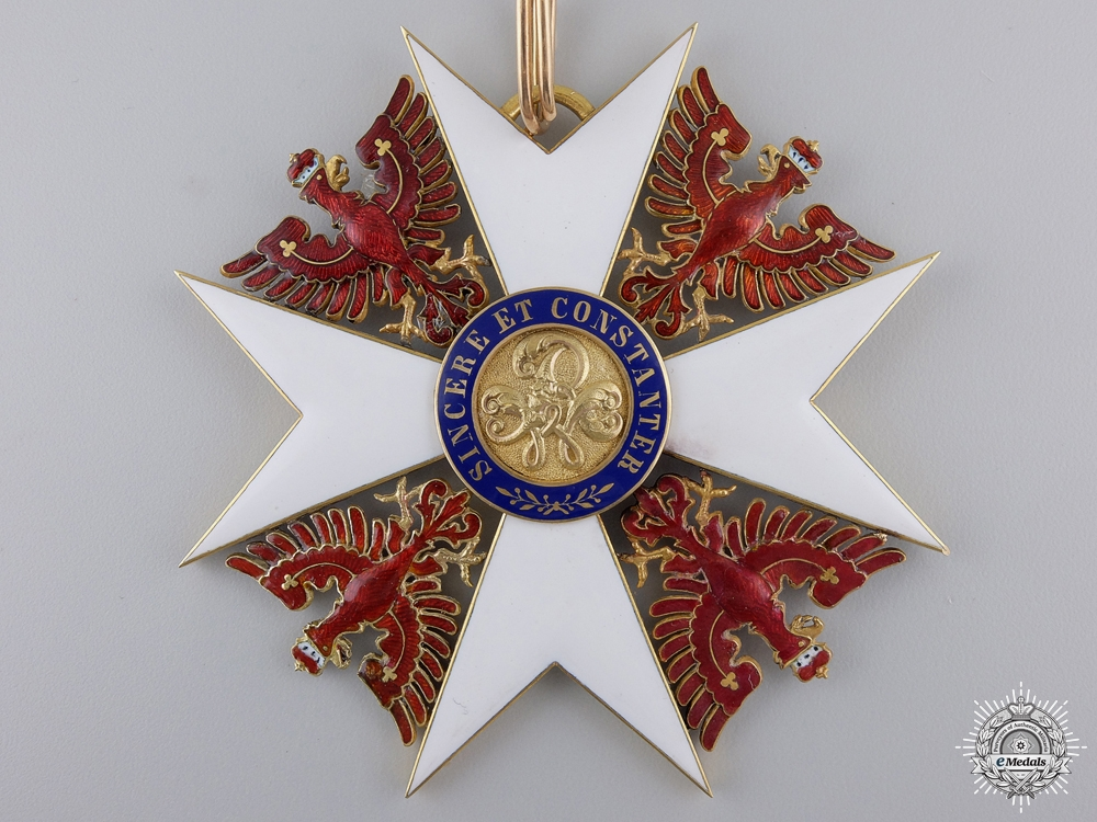 A Prussian Order of the Red Eagle 1861-1918; Grand Cross by Humbert & Söhn