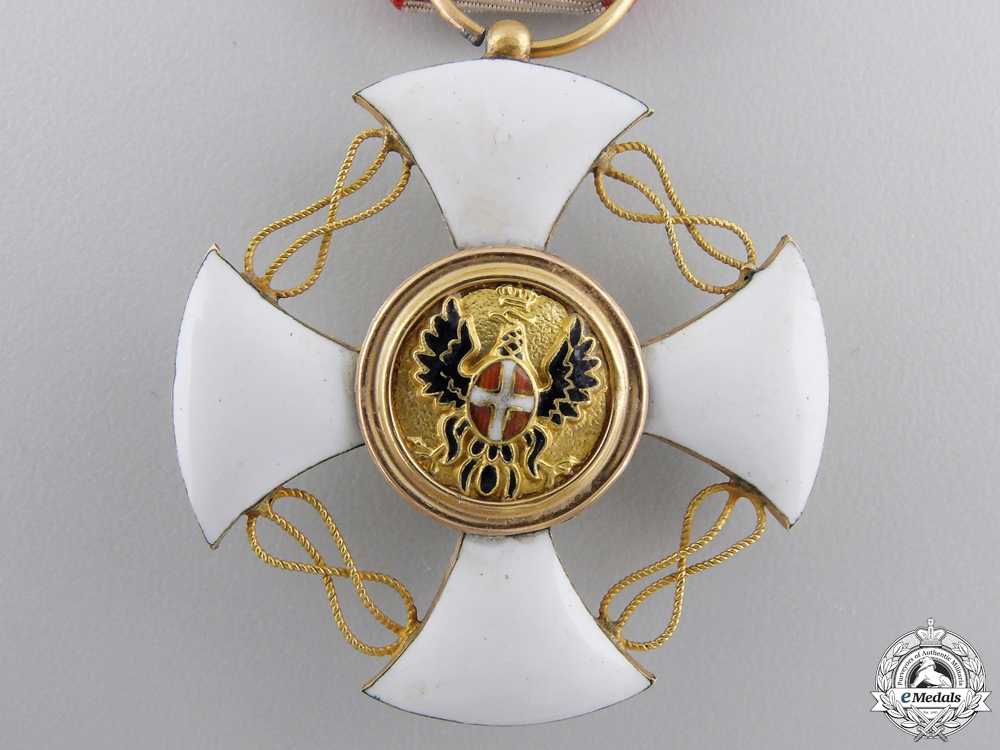 An Order of the Crown of Italy, Knight's Cross