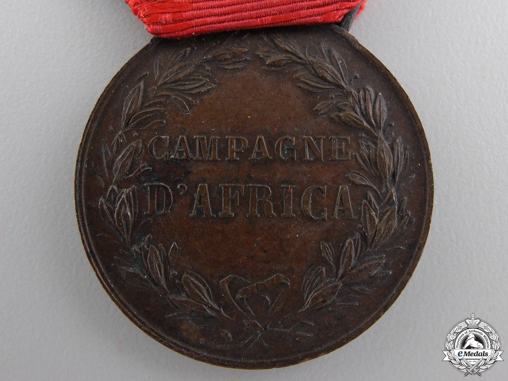 A 1906 Italian Africa Campaign Medal