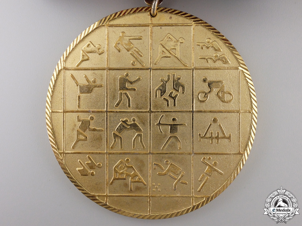 Two Egyptian Military Apparatus for Sports Medals