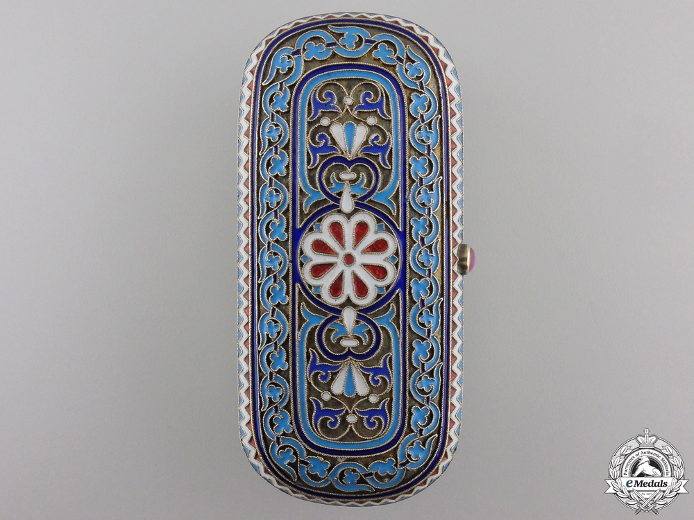An Exquisite Russian Box to the Duchess of Wurtemberg