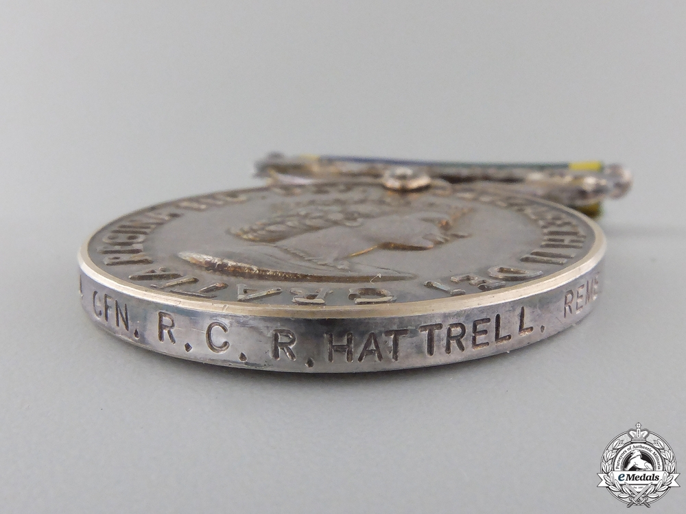 An Efficiency Medal to the Territorial and Army Volunteer Reserve