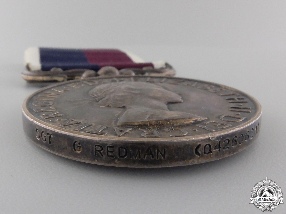 A Royal Air Force Long Service and Good Conduct Medal