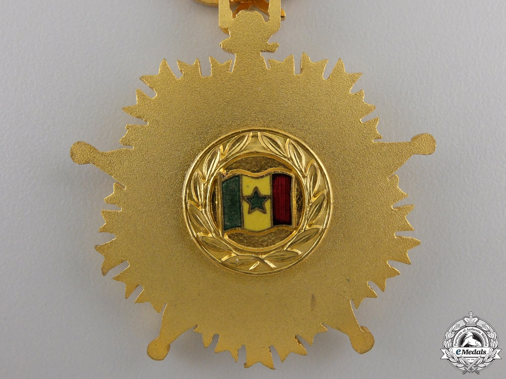 An Order of the Lion of Senegal; Knight