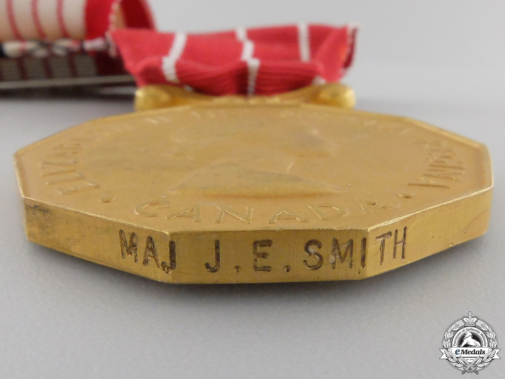 A Second War Canadian Group to Major J.E. Smith