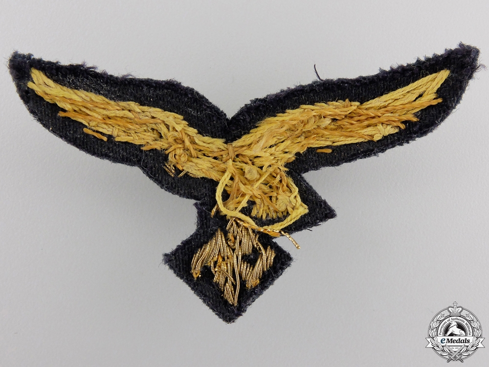 Insignia for Luftwaffe General's Visor Cap; 2nd Type