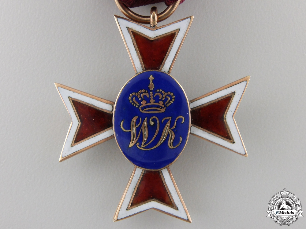 An 1830's  Hessen House Order of the Golden Lion in Gold