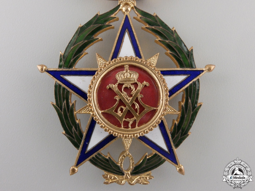 A Belgian Colonial Order of the African Star; Commander's