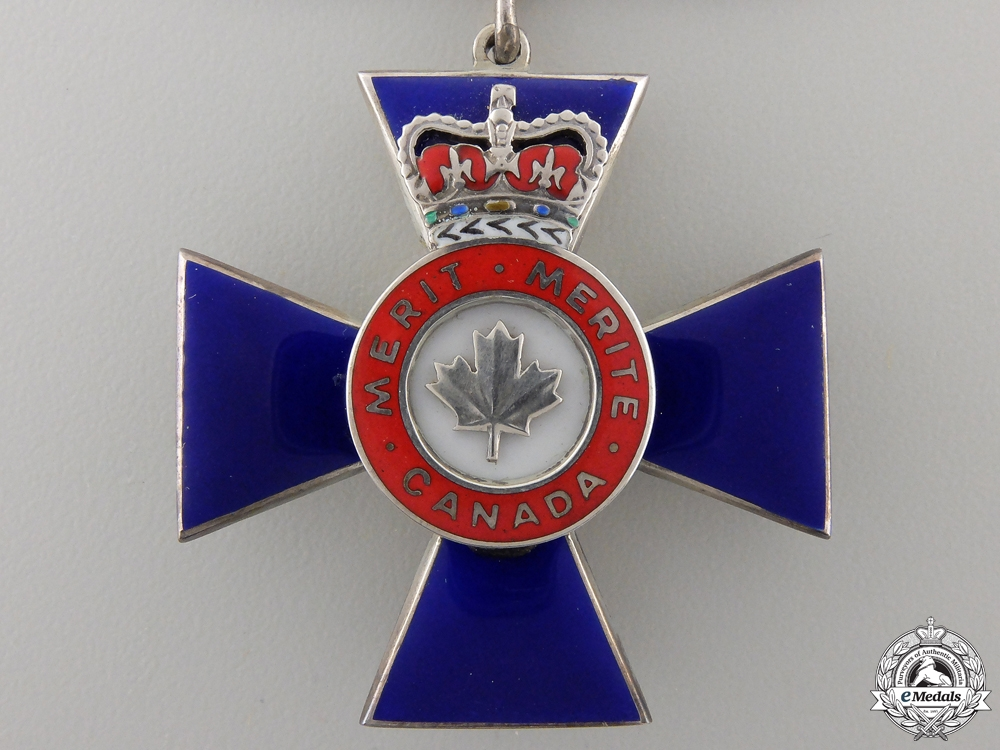A Canadian Order of Military Merit; Member  Con #41