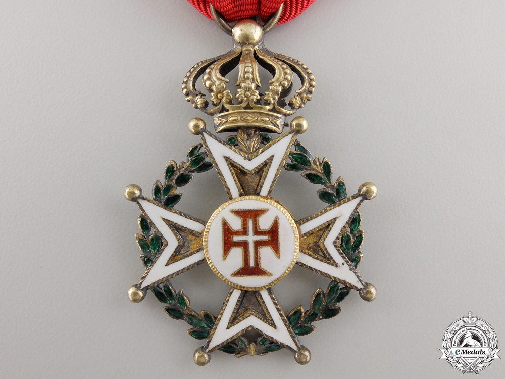 A First War Portuguese Order of Military Merit; Officers Cross
